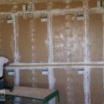 Мелик Карамова шумоизляция стены каркасным методом без виброводвесов