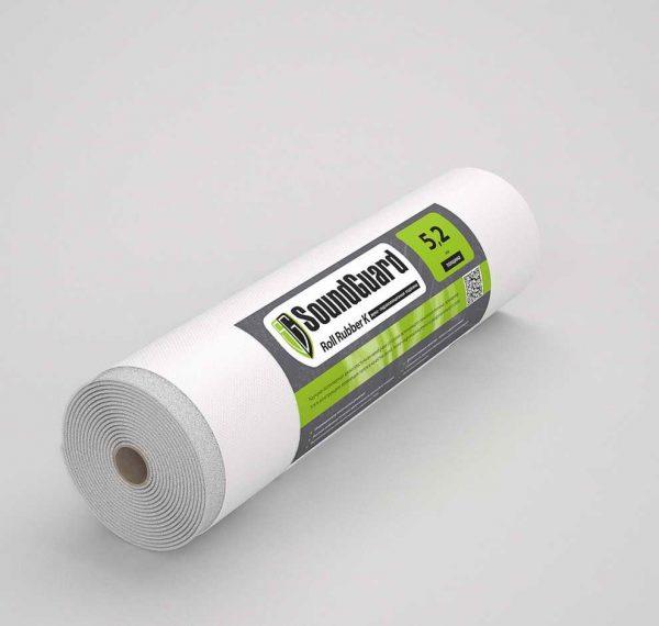 Звуко-гидроизоляционная подложка SoundGuard Roll Rubber K