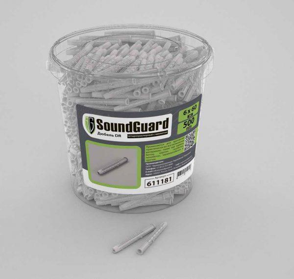 Дюбеля SoundGuard DR 6х60 500 шт.